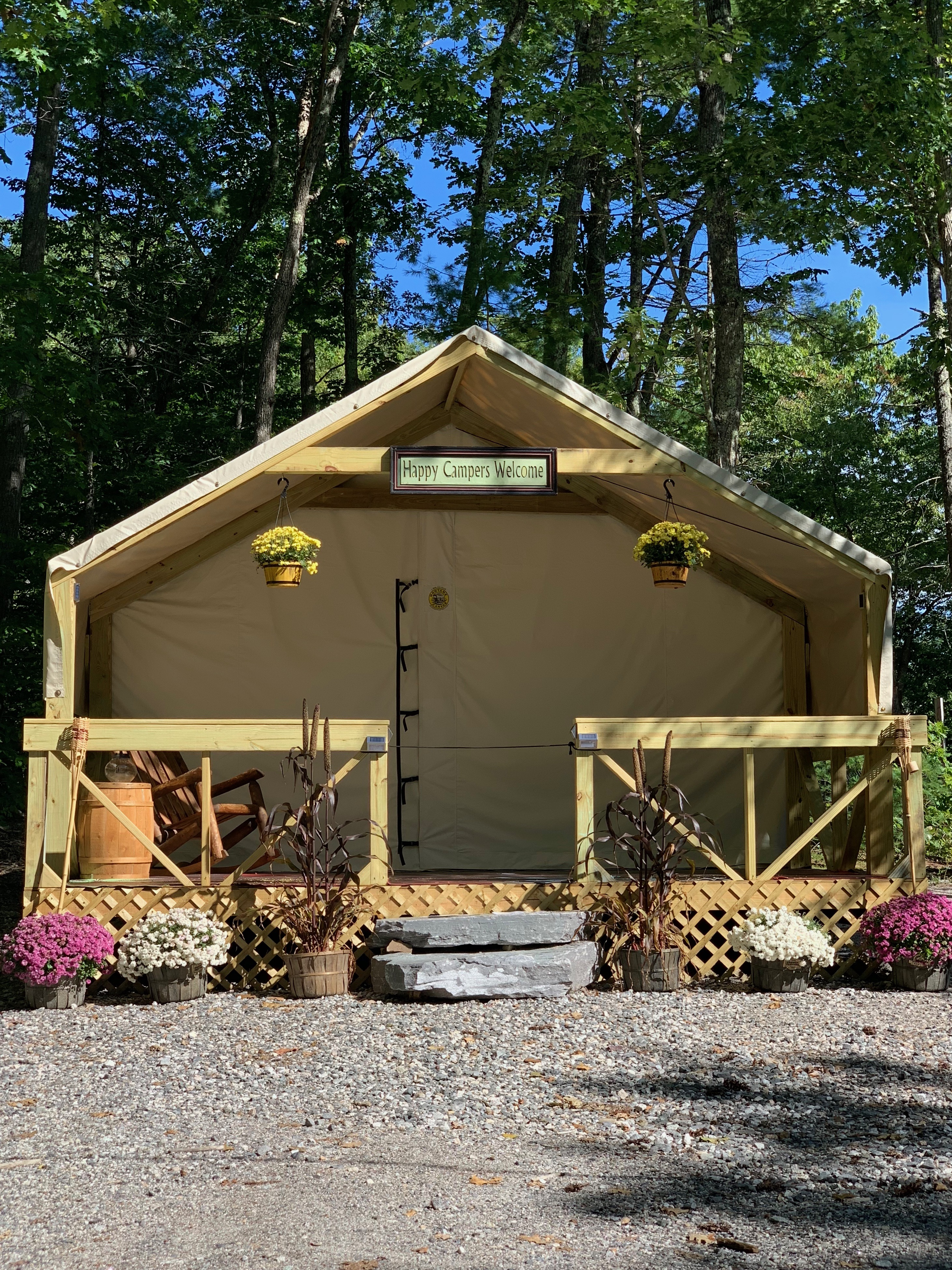 Loon's Haven Family Campground in Naples, Maine - Home